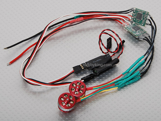 Brushless Conversion kit for LAMA4 & LAMA3