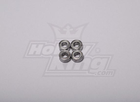 HK-500GT Ball Bearing 9 x 4 x 4mm (Align part # H60103)