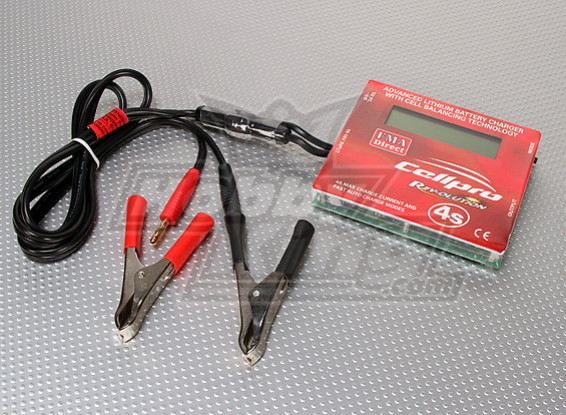 Cellpro 4s 4A Lithium Cell Balancing Charger
