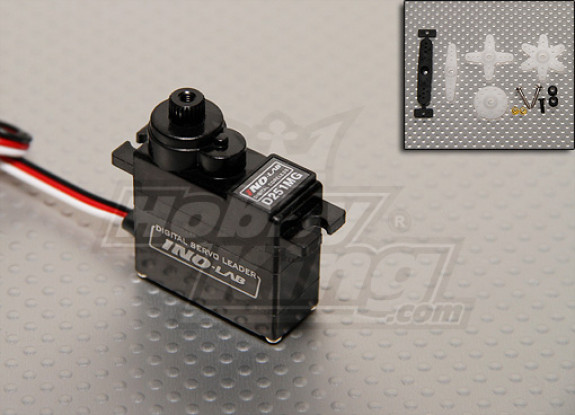 HGD 251 Digital MG Coreless Heli Servo - 24.4g/ .12s/ 5.6kg