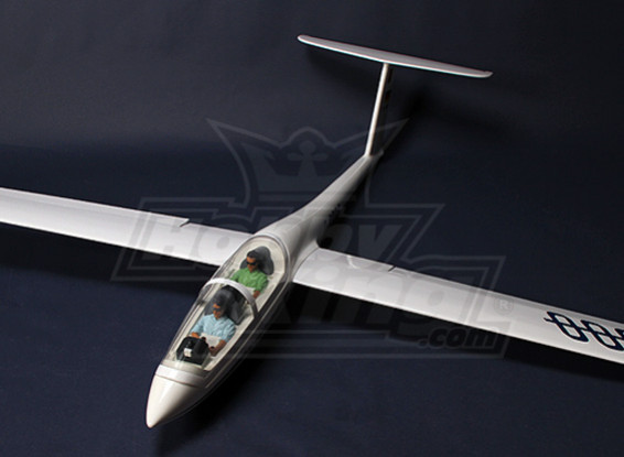 DG-1000 2.63m AMS Scale Glider Kit w/ UltraDetail Pilots