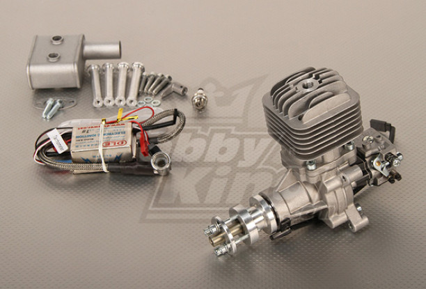 DLE-30 30cc Gas Engine 3.7HP@8500RPM (New Version)