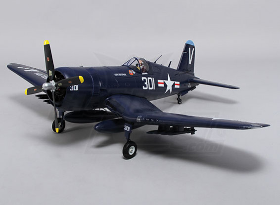 Durafly™ F4U Corsair w/flaps/retracts/lights 1100mm (PNF)