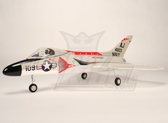 F4D-1 Fighter Jet w/ Brushless EDF (PNF)