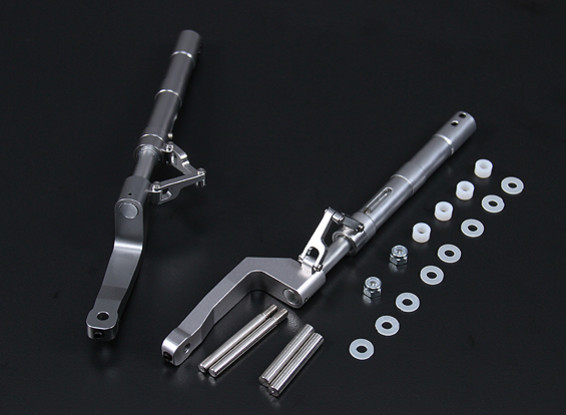 Alloy 168mm Offset Oleo Legs F8F Style for 5mm Mounting Pin (2pc)