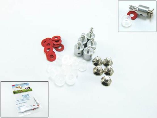 Pushrod Snap Connectors 1.5mm (5pack)