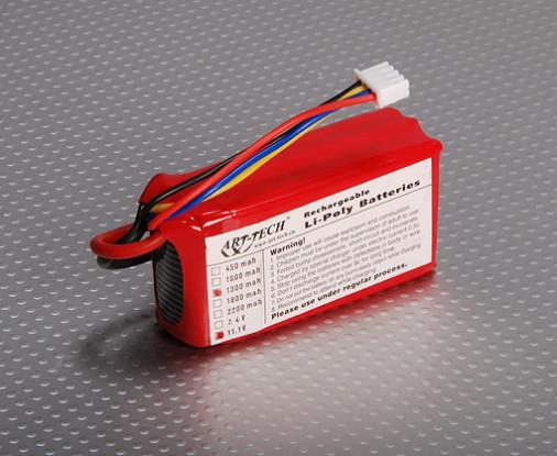 LiPo Battery 1300mah 11.1V (Falcon/Hurricane)