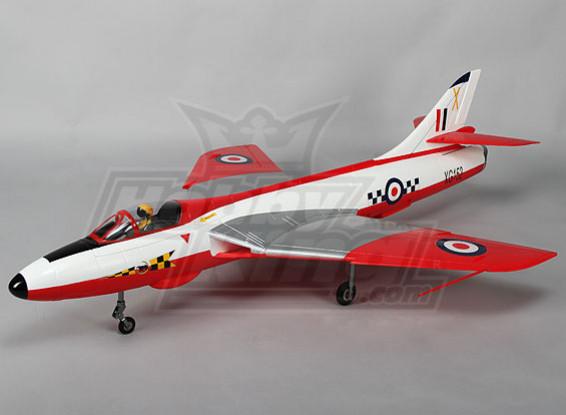 Hawker Hunter 70mm EDF Jet 6s w/Retracts & Flaps WSR (PNF)