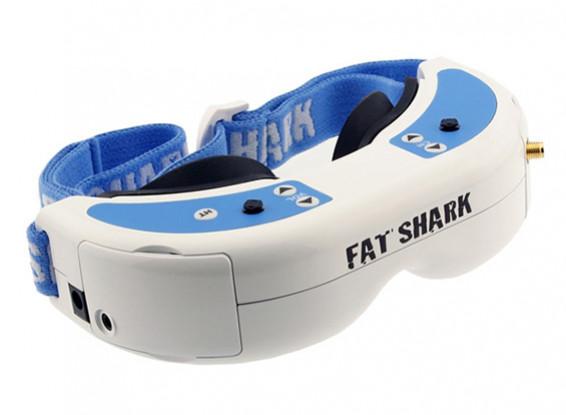 FatShark Dominator V2 Headset System Goggles Video Glasses 600 X 480 VGA