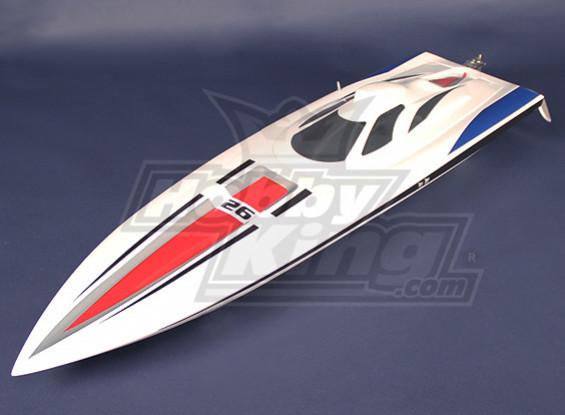 HobbyKing Vanquish Brushless V-Hull R/C Boat - 1075mm (KIT)
