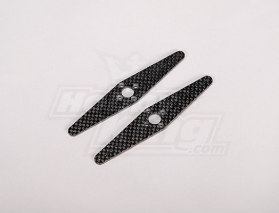 Carbon Fiber servo arm 108mm (2pcs/bag)