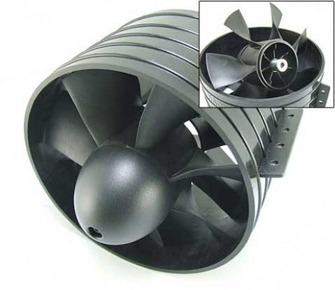 EDF Ducted Fan Unit 7Blade 127mm (5inch)