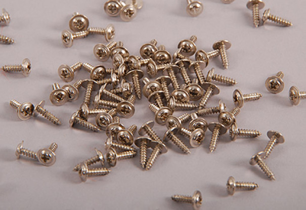 Self Tapping Machine Screw M2.3x14mm Phillips Head w/shoulder (100pcs)