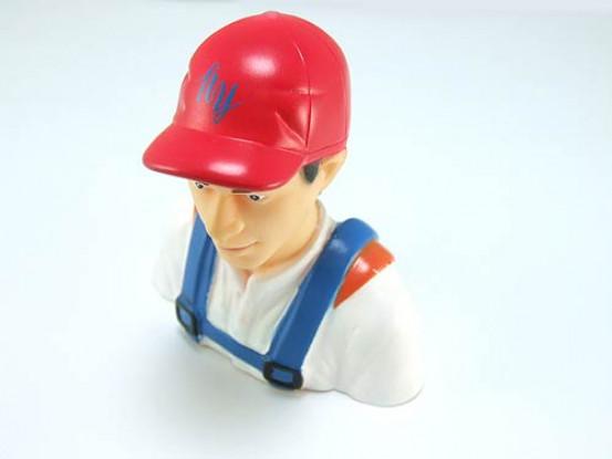 Pilot Model (Pilot With Hat) 1/6 (H78 x W73 x D36mm)