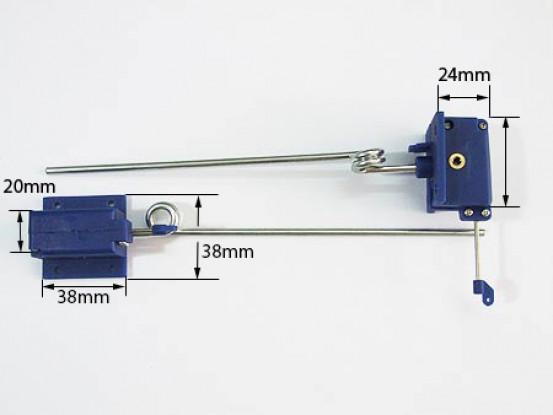 Mechanical Retracts 3.5mm x 140mm long (PAIR) (38x38)