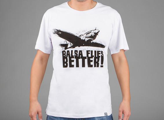 HobbyKing Apparel Balsa Flies Better Cotton Shirt (M)