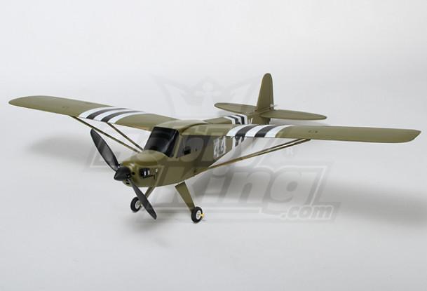 J3 Green Airplane Model Kit