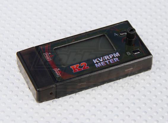 K2 kv/rpm Meter with Motor Speed Adjustment