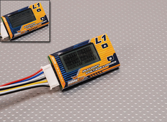 In-Flight Voltage Logger & Health Analyzer (2S-6S)
