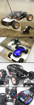1/18 Mini Baja Buggy RTR
