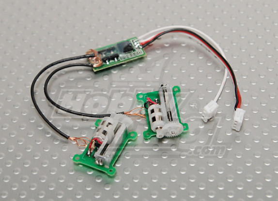 HobbyKing Micro V-Tail Servo Set 29.5g/ 0.11sec/ 3.2g Version 2