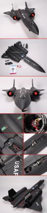SR-71 Blackbird Jet w/ Brushless EDF RTF