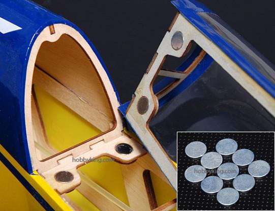 NEODYMIUM Rare-Earth Button Magnets 10mm (10pcs/set)