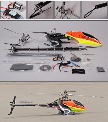 SJM500(430) Pro Kit 80% RTF w/ BL Motor & ESC