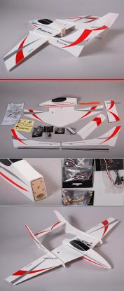 Quick-V Ultra-light park-jet 95% ARF w/ motor & ESC