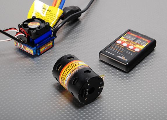 Brushless Car Power System 5200Kv/100A