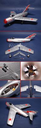MIG-15 Fighter R/C Ducted Fan Jet Plug-n-Fly