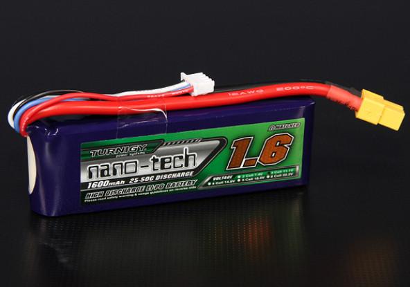 Turnigy nano-tech 1600mah 3S 25~50C Lipo Pack