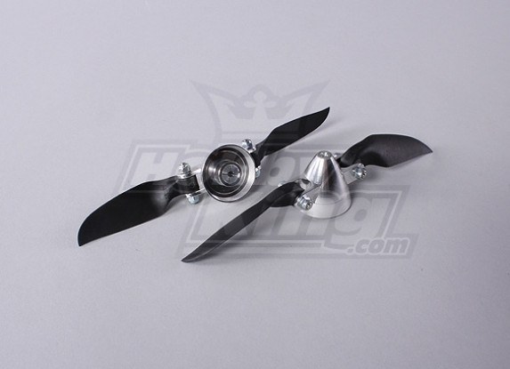 Folding Propeller Assembly 6x4 (Alloy Hub/Spinner) (2pcs/bag)