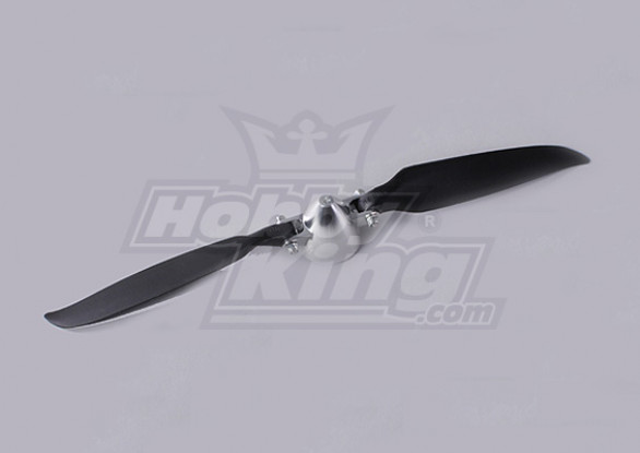 Folding Propeller Assembly 11x8 (Alloy/Hub Spinner) (1pc/bag)