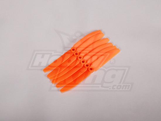 GWS Style Propeller 4.5x3 Orange (CCW) (6pcs)