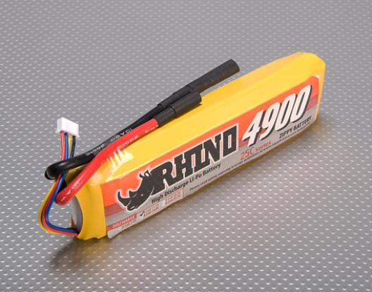 Rhino 4900mAh 3S1P 25C Lipoly Pack