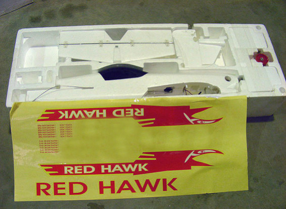 SCRATCH/DENT Red Hawk 1000mm (ARF) (AUS Warehouse)
