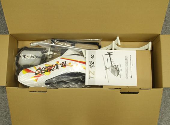SCRATCH/DENT - TZ-V2 .90 Size Nitro 3D Flybarless Competition Helicopter Kit (Belt Drive)
