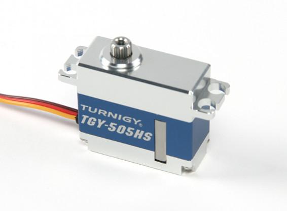SCRATCH/DENT - Turnigy TGY-505HS HV Digital Metal Cased High Speed Brushless Servo 40g/4.8kg/0.04sec