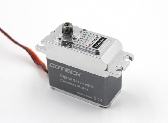 SCRATCH/DENT - Goteck HC2621S HV Digital MG Metal Cased High Torque Servo 77g/23kg/0.10sec