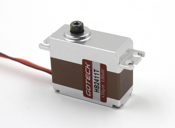SCRATCH/DENT - Goteck HB2411T HV Digital Brushless MG Metal Cased Car Servo 35g/5.5kg/0.05sec