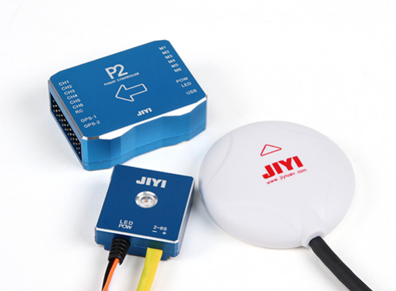 SCRATCH/DENT -  JIYI P2 Multirotor Autopilot Flight Control System