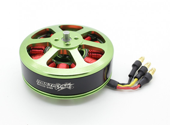 SCRATCH/DENT - 5008-340KV Turnigy Multistar Multi-Rotor Motor With 3.5mm Bullet Connector Installed