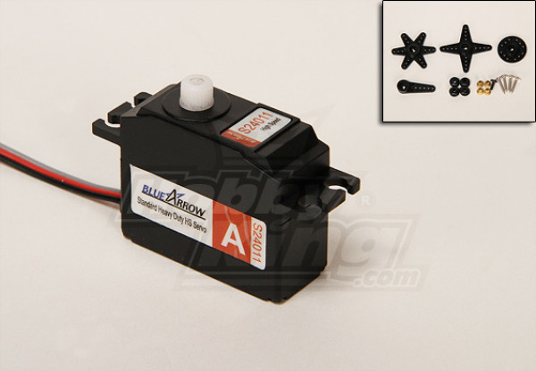 S24011 Heavy Duty High Speed Servo 25T 2.4kg / 0.08sec /  24.7g