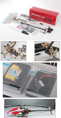 SJM 400II Extreme 3D ARTF Kit w/ Motor & ESC