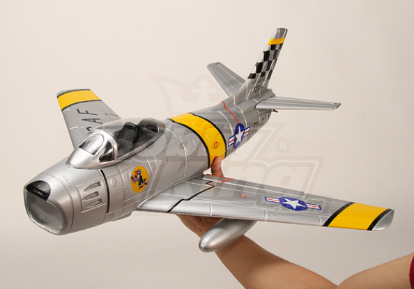 Mini F-86 EDF Fighter Jet, EPO (PNF)