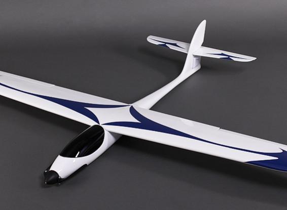GL-Speedy Fiber Glass Glider 1600mm w/motor/ESC/Servos (PNF)