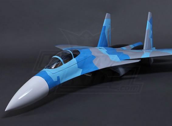 SU-37 Composite Twin 90mm EDF Jet 1200mm (ARF)