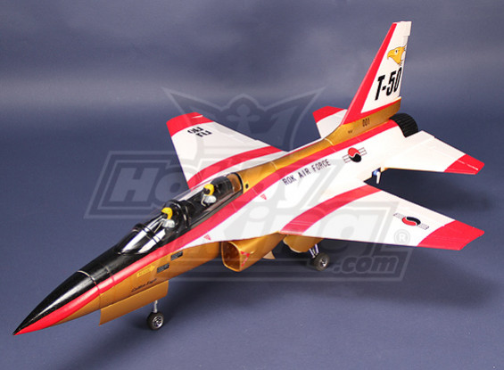 RoKAF T-50 70mm EDF Jet Plug-n-Fly