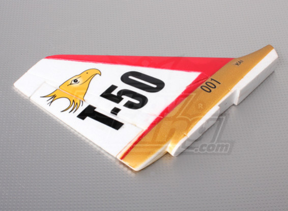 T-50 Rudder RED